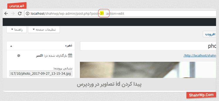 پیداکردن شناسه اینترنتی در صفحه در افزونه WP jQuery Lightbox