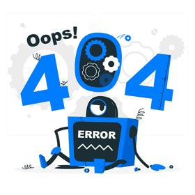 ارور Not Found Error 404 چیست